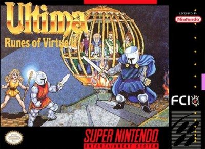 Ultima: Runes of Virtue II Cover Art