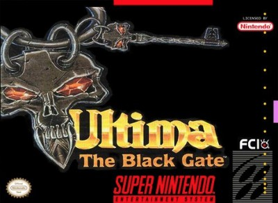 Ultima VII: The Black Gate Cover Art