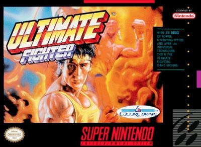 Ultimate Fighter Cover Art