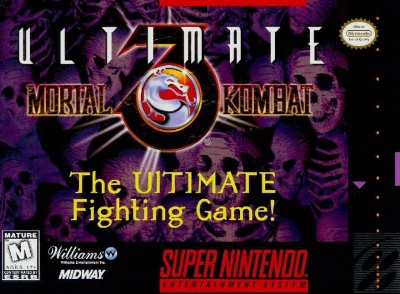 Ultimate Mortal Kombat 3 Cover Art