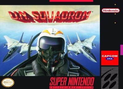UN Squadron Cover Art