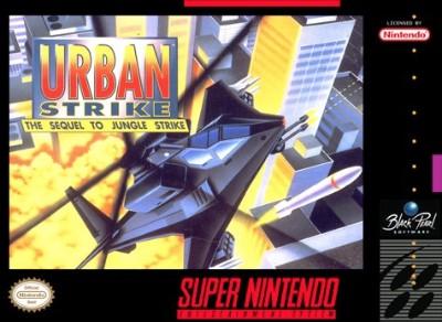 Urban Strike: The Sequel to Jungle Strike Cover Art