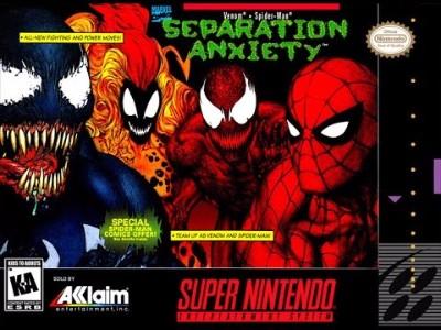 Spider-Man & Venom: Separation Anxiety Cover Art