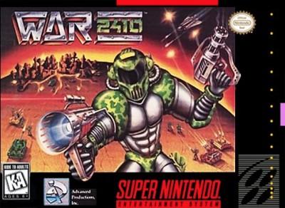 War 2410 Cover Art