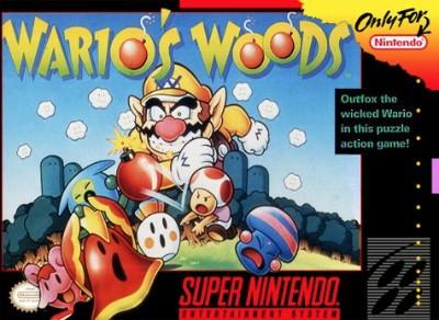 Wario's Woods Cover Art