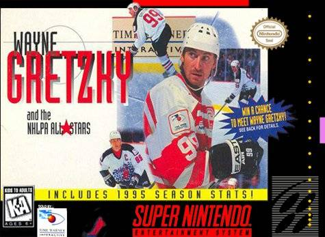 Wayne Gretzky and the NHLPA All-Stars Cover Art