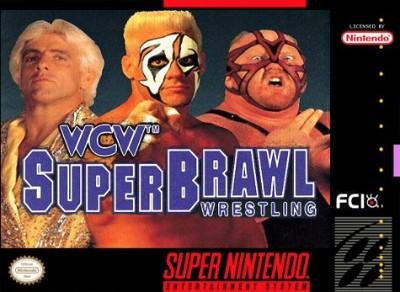 WCW Super Brawl Wrestling Cover Art
