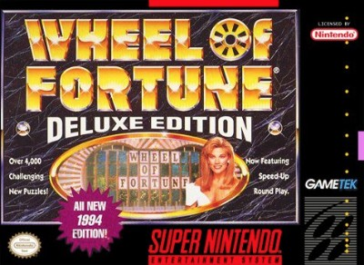 Wheel of Fortune: Deluxe Edition Cover Art