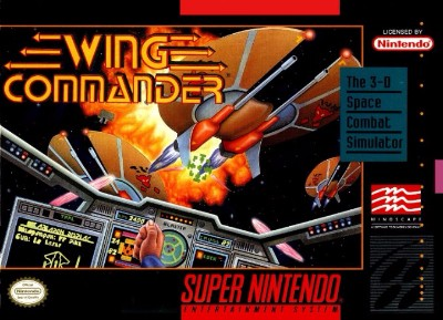 Wing Commander Cover Art