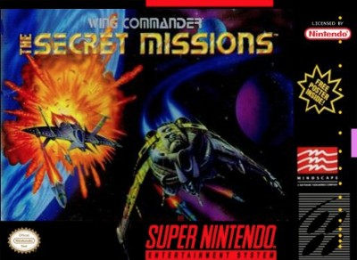 Wing Commander II: The Secret Missions Cover Art