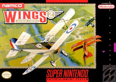 Wings 2: Aces High Cover Art