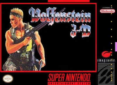 Wolfenstein 3D Cover Art
