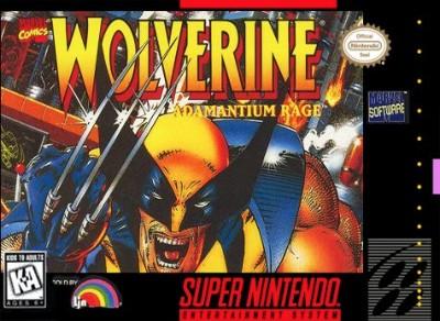 Wolverine: Adamantium Rage Cover Art
