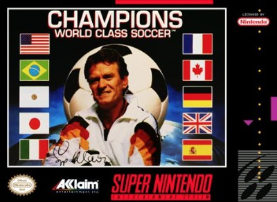 Champions World Class Soccer Cover Art