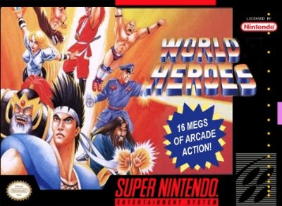 World Heroes Cover Art
