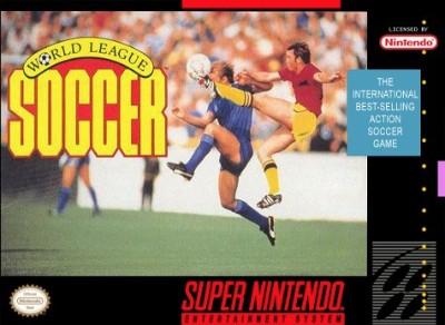 World League Soccer Cover Art