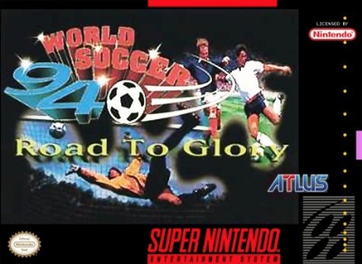 World Soccer '94: Road to Glory Cover Art