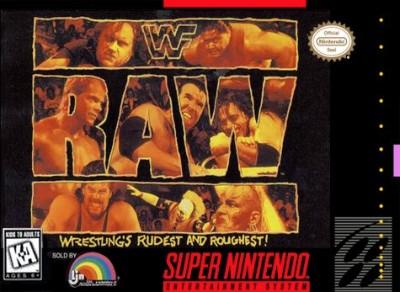WWF Raw Cover Art