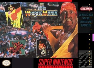 WWF Super Wrestlemania Cover Art