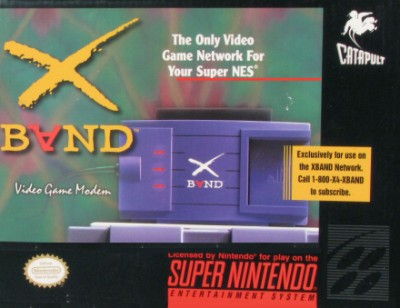 X Band: Video Game Modem Cover Art