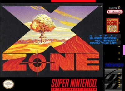 X-Zone Cover Art