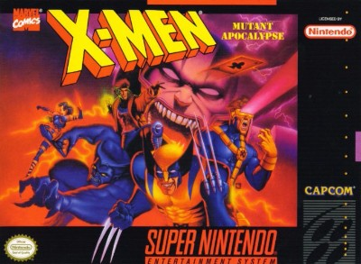 X-Men: Mutant Apocalypse Cover Art