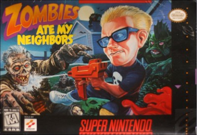 Zombies  Ate My Neighbors [Box Variant] Cover Art