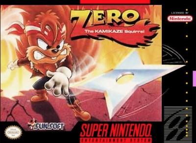 Zero the Kamikaze Squirrel Cover Art