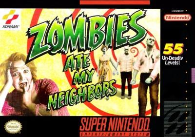 Zombies Ate My Neighbors Cover Art