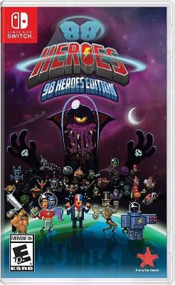 88 Heroes 98 Heroes Edition Cover Art