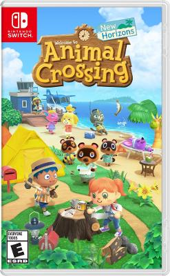 box cover art for Animal Crossing: New Horizons