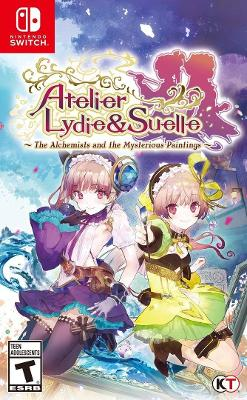 Atelier Lydie & Suelle: The Alchemists and the Mysterious Paintings Cover Art