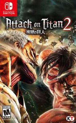 Attack on Titan 2 Cover Art