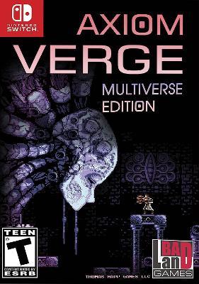 Axiom Verge [Multiverse Edition] Cover Art
