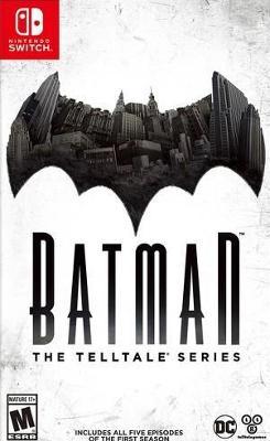 Batman: The Telltale Series Cover Art