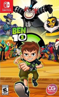 Ben 10 Cover Art