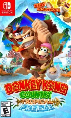 Donkey Kong Country: Tropical Freeze Cover Art