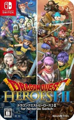 Dragon Quest Heroes 1 & 2 Cover Art