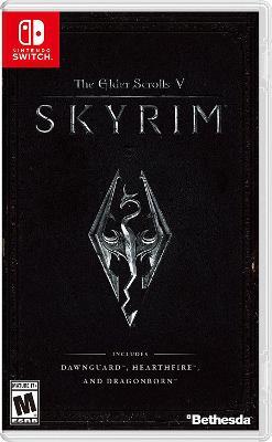 Elder Scrolls V: Skyrim, The Cover Art