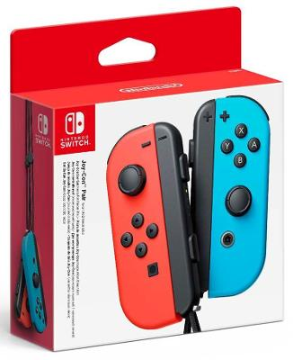 Joy-Cons [Neon Blue/Red] Cover Art