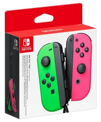 Joy-Cons [Neon Green/Pink] Cover Art