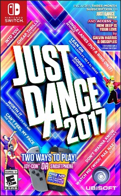 Just Dance 2017 Cover Art