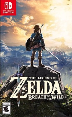 The Legend of Zelda: Breath of the Wild Cover Art