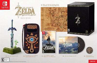 Legend of Zelda: Breath of the Wild, The [Master Edition] Cover Art