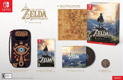 Legend of Zelda: Breath of the Wild, The [Special Edition] Cover Art