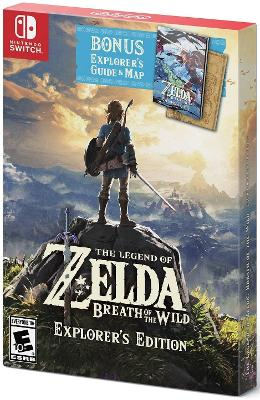 The Legend of Zelda: Breath of the Wild [Explorer's Edition] Cover Art