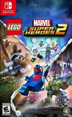 LEGO Marvel Super Heroes 2  Cover Art