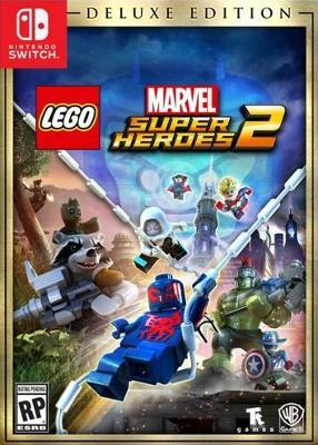 LEGO Marvel Super Heroes 2 [Deluxe Edition] Cover Art