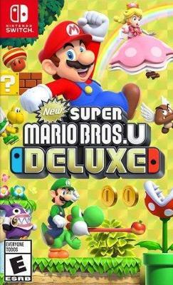 New Super Mario Bros. U Deluxe Cover Art