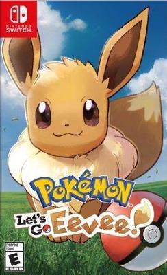 Pokemon: Let's Go Eevee! Cover Art